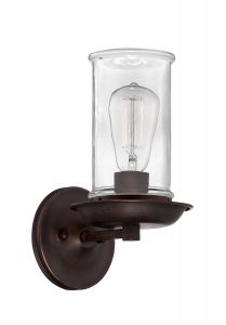 36161-ABZ Wall Sconce Aged Bronze Brushed