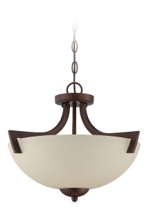 Almeda 3 Light Convertible Semi Flush/Pendant