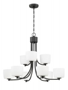 Clarendon 9 Light Chandelier