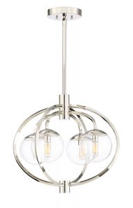 Piltz 4 Light Chandelier