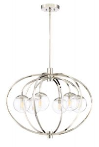 Piltz 6 Light Chandelier