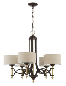 46325-ANGBZ Chandelier Antique Gold-Bronze