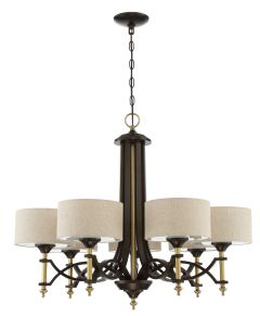 46327-ANGBZ Chandelier Antique Gold-Bronze