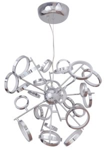 47126-CH-LED LED Chandelier Chrome