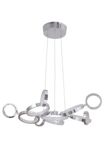 47191-CH-LED LED Chandelier Chrome