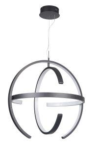 47890-MBK-LED LED Pendant Matte Black