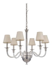 48026-PLN Chandelier Polished Nickel