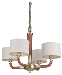 48124-VB Chandelier Vintage Brass