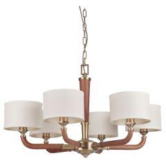 48126-VB Chandelier Vintage Brass