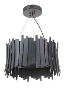 49490-FS-LED Pendant Fired Steel
