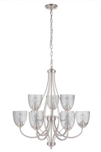 Serene 9 Light Chandelier