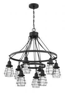Thatcher 9 Light Chandelier
