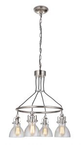 51224-PLN Chandelier Polished Nickel