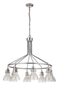 51228-PLN Chandelier Polished Nickel