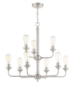 Bridgestone 9 Light Chandelier