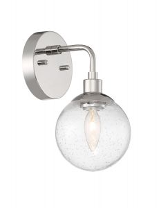 Que 1 Light Wall Sconce