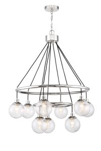 Que 9 Light Chandelier