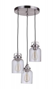 Foxwood 3 Light Pendant