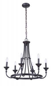 Marlowe 6 Light Chandelier