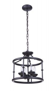 Marlowe 4 Light Convertible Semi Flush