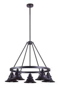 Union 5 Light Outdoor Chandelier