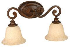 9121PR2 Vanity Light Peruvian Bronze