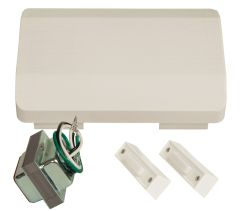 Builder Kits Premium Builder 2 Button Lighted Chime Kit in Designer White