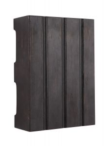 Designer Chimes Hand-Hewn Design Chime in Ebony