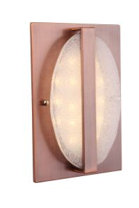 Chimes Recessed Illuminated Chime with Round Artisan Glass