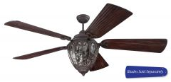 OV70AG Customizable Fan - Select Blades (Sold Separately) Aged Bronze Textured