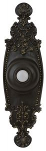 PB3035-AZ Lighted Push Button Antique Bronze