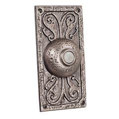 Designer Surface Mount Buttons Surface Mount Designer Lighted Push Button in Antique Pewter