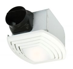 TFV110SL Bath Exhaust Fan with Light Designer White