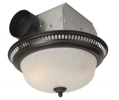 Ventilation Fans 70 CFM Decorative Fan with Light