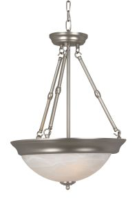 X21 series flushmounts 3 Light Inverted Pendant