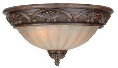 X5713-AG Flushmount Aged Bronze Textured