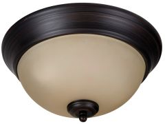 "Pro Builder Flush 2 Light 11"" Flushmount"