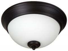 XP11FB-2W Flushmount Flat Black