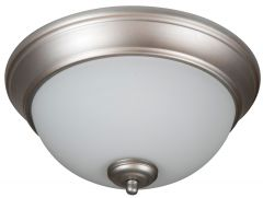 XP11BN-2W Flushmount Brushed Satin Nickel
