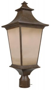 Z1325-AG Post Mount Aged Bronze Textured