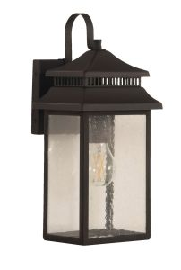 Crossbend Small 1 Light Outdoor Lantern