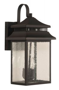 Crossbend Large 2 Light Outdoor Lantern