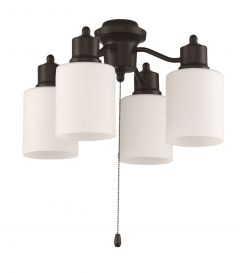 4 Light Fitter and Glass - LK403107