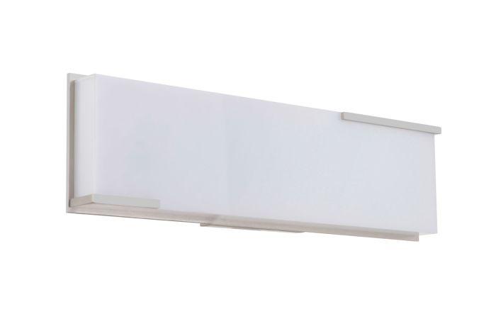11317BNK-LED LED Vanity Brushed Polished Nickel