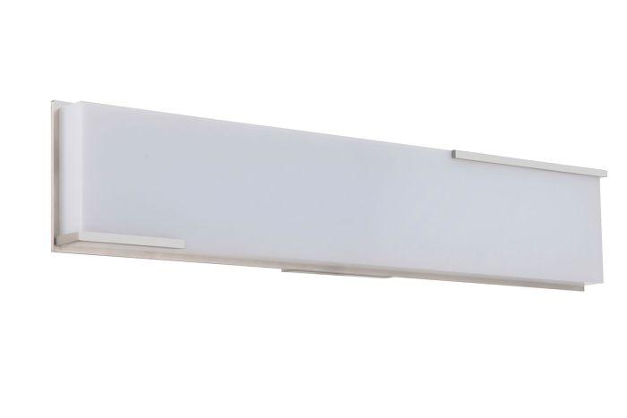 11324BNK-LED LED Vanity Brushed Polished Nickel