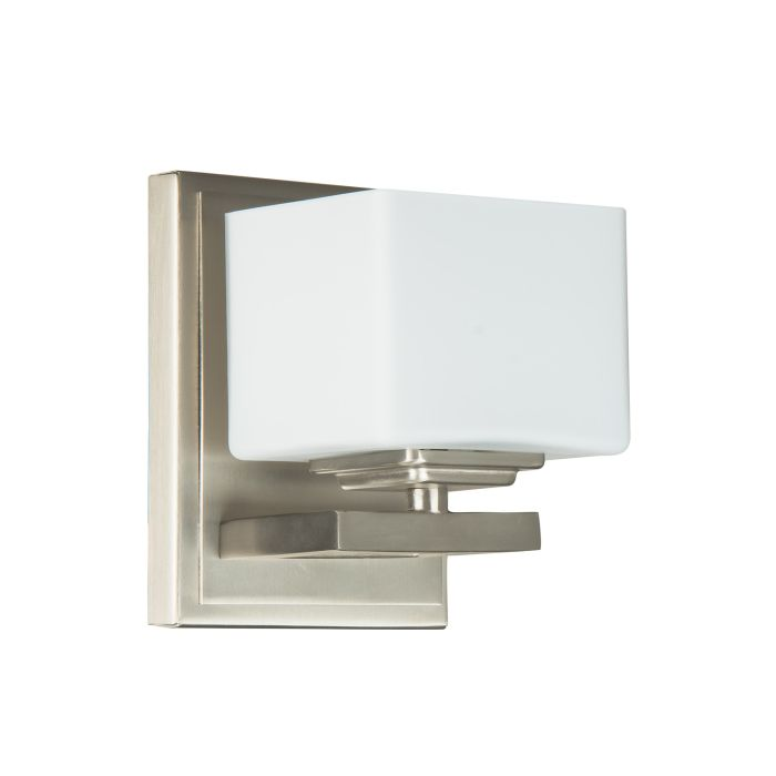 13306BNK1 Wall Sconce Brushed Polished Nickel