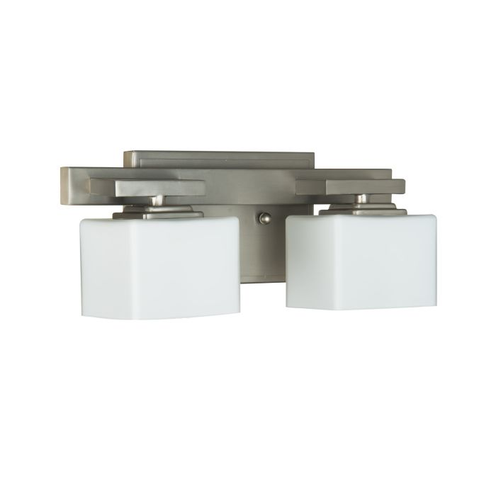 13314BNK2 Vanity Light Brushed Polished Nickel
