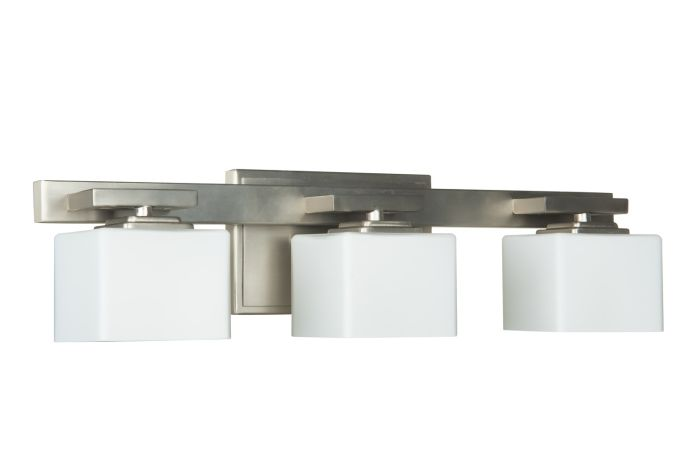 13322BNK3 Vanity Light Brushed Polished Nickel