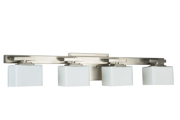 13329BNK4 Vanity Light Brushed Polished Nickel