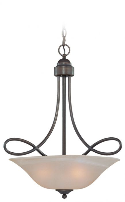 Cordova 3 Light Inverted Pendant